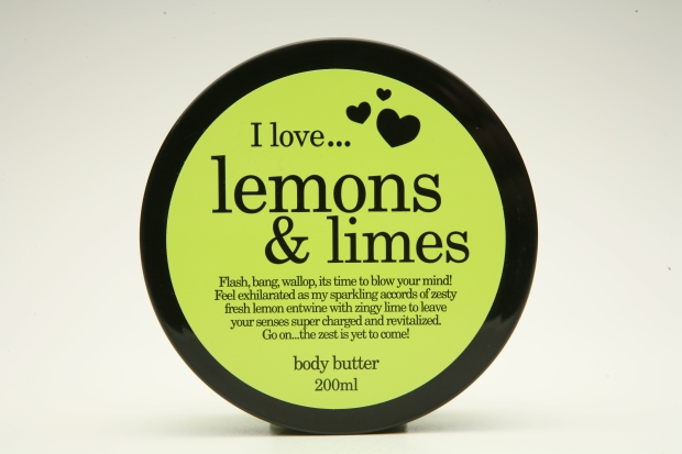 lemon&lime body butter
