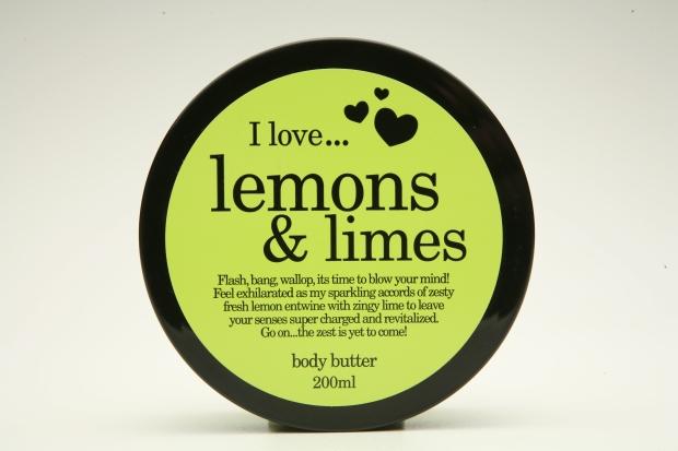 lemon&lime body butter