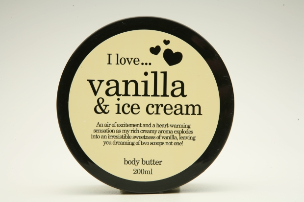vanilla&icecream body butter