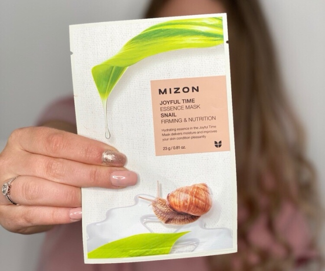 Mizon-joyful-time-snail-mask